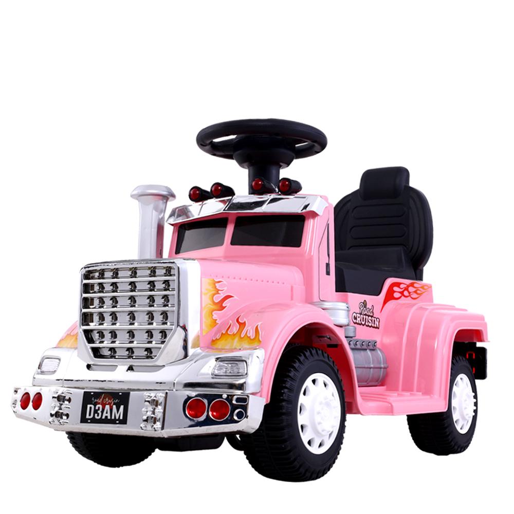 Ride On Cars Kids Electric Toys Car Battery Truck Childrens Motorbike Toy Rigo Pink Kidscarsau